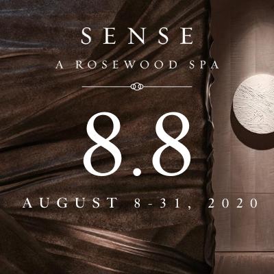 8.8 at Sense, A Rosewood Spa