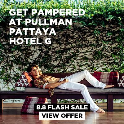 Let's get pampered at Pullman Pattaya Hotel G!