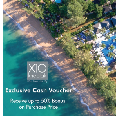 Exclusive Cash Voucher  |  Phang Nga  |  Khao Lak Resort