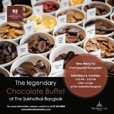Chocolate Buffet at The Sukhothai Bangkok
