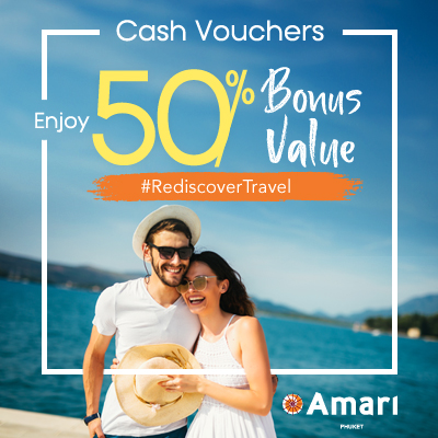 Amari Phuket | Enjoy 50% Bonus Value