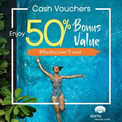 Shama Lakeview Asoke | Enjoy 50% Bonus Value
