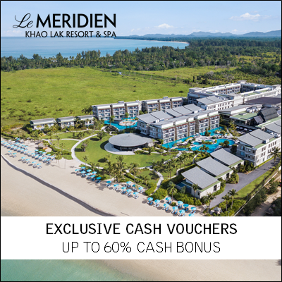 Le Méridien Khao Lak Resort & Spa (UP TO 60% OFF)
