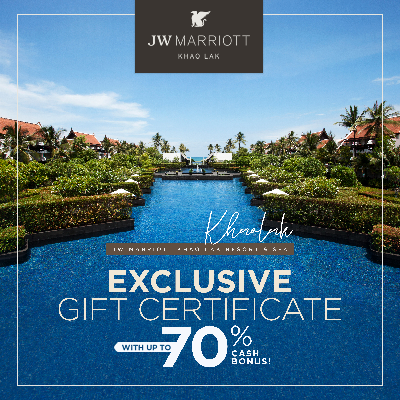 JW Marriott Khao Lak Resort & Spa (UP TO 70% OFF)