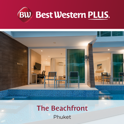 Beach Front stay from 1,100 THB only