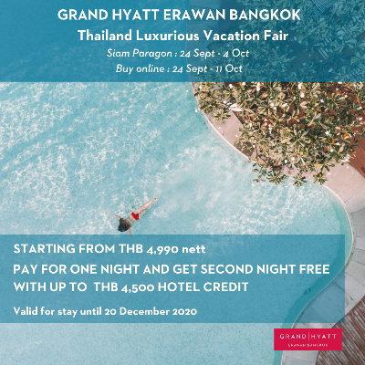 Thailand Luxurious Vacation Fair- Staycation Offers