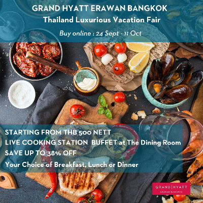 Thailand Luxurious Vacation Fair- Live Cooking Station Buffet
