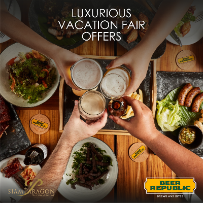 Luxurious Vacation Fair Offers | Beer Republic