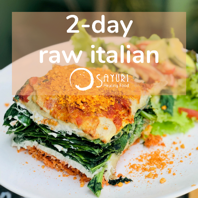 2-DAY RAW ITALIAN ZOOM CLASS | 26 - 27 OCT 2020