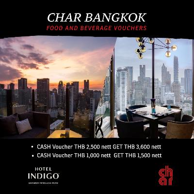 CHAR Bangkok Vouchers
