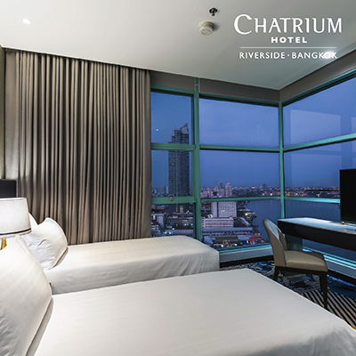 VALUE VOUCHER AT CHATRIUM HOTEL RIVERSIDE BANGKOK