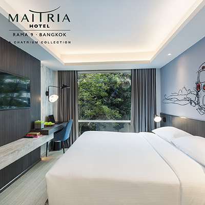 VALUE VOUCHER AT MAITRIA HOTEL RAMA 9 BANGKOK - A CHATRIUM COLLECTION