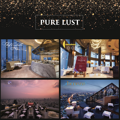Pure Lust at Iconic Rooftop Restaurants