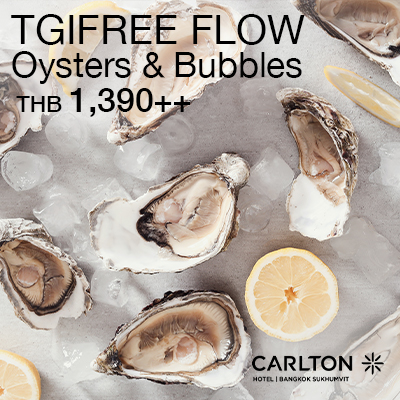TGIFREE FLOW Oysters & Bubbles Night
