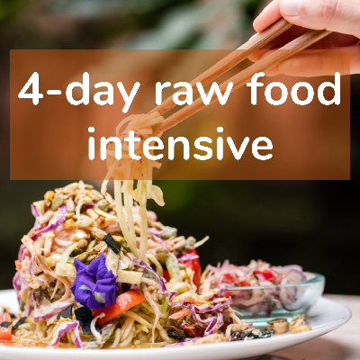 4-Day Raw Food Intensive Course | 21 - 24 December 2020