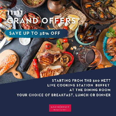 11.11 Grand Offers- The Dining Room