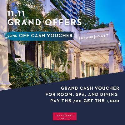 11.11 Grand Offers- Grand Cash Voucher