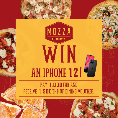 MOZZA SIAM PARAGON GRAND OPENING & WIN AN iPhone 12