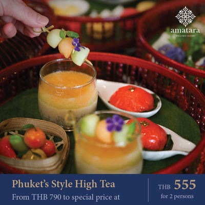 Phuket's Style High Tea