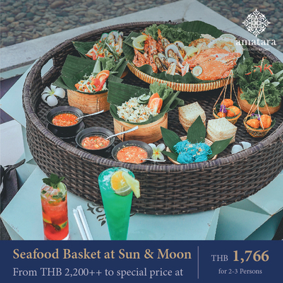Seafood Basket at Sun & Moon