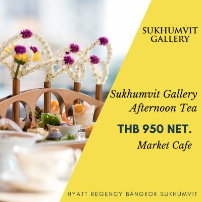 Sukhumvit Gallery Afternoon Tea