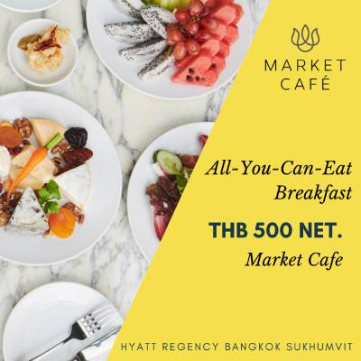 All-You-Can-Eat Breakfast at Hyatt Regency Bangkok Sukhumvit