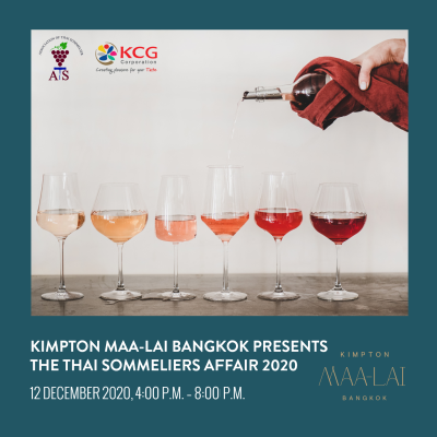 The Thai Sommeliers Affair 2020 at Kimpton Maa-Lai Bangkok