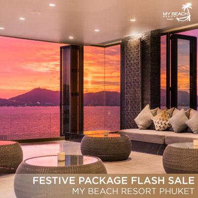 Flash Sale - Festive Package at My Beach Resort Phuket