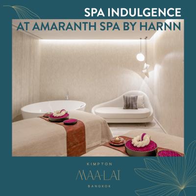 BLACK FRIDAY SALE | amaranth spa by HARNN | KIMPTON MAA-LAI BANGKOK