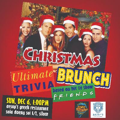Friends Ultimate Trivia Christmas Brunch