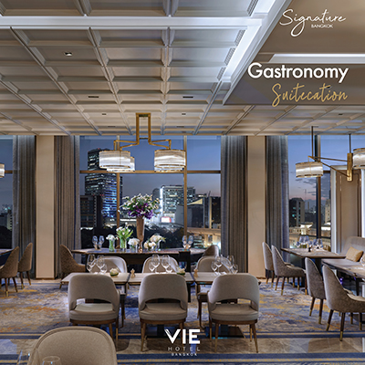 VIE Hotel Bangkok, MGallery Hotel Collection - Gastronomy SuiteCation