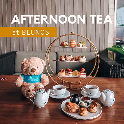 Afternoon Tea at Blunos