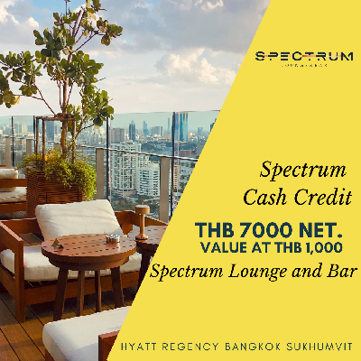 Cash Voucher at Spectrum Lounge and Bar