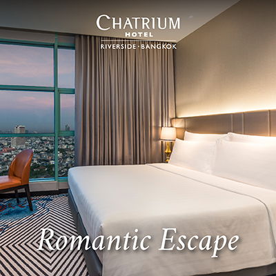 Romantic Escape by the river at Chatrium Hotel Riverside Bangkok