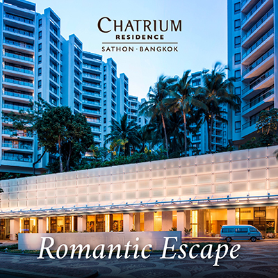 Romantic Escape at Chatrium Residence Sathon Bangkok