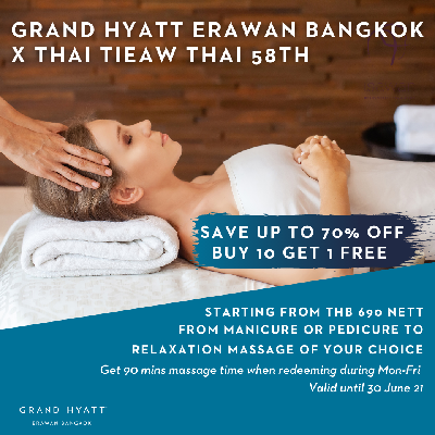 Thai Tiew Thai-Wellness offers from head to toes