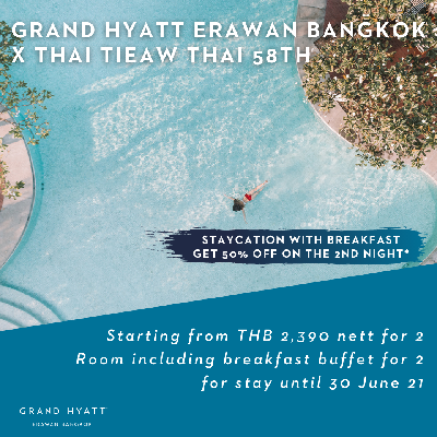 Thai Tiew Thai- 2021 Staycation offers