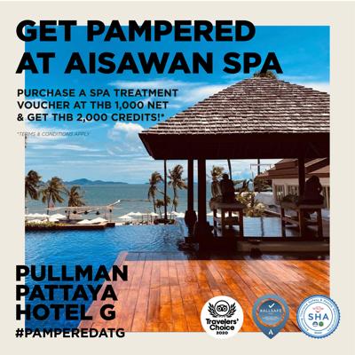 Thai Tiew Thai#58 offer At Aisawan Spa, Pullman Pattaya Hotel G
