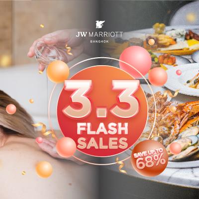 Flash sale 3.3