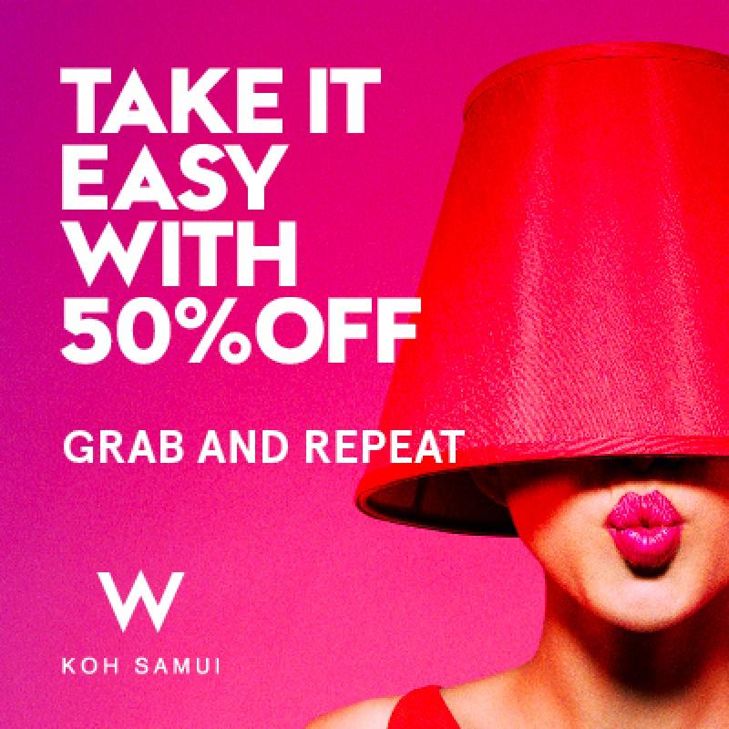 W KOH SAMUI (UP TO 50% OFF)
