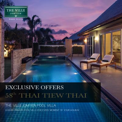 Thai Tiew Thai 58 - The Ville Jomtien Pool Villa