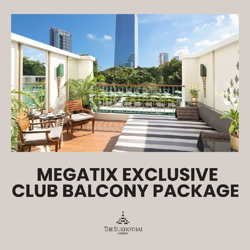 Megatix Exclusive   Club Balcony Package