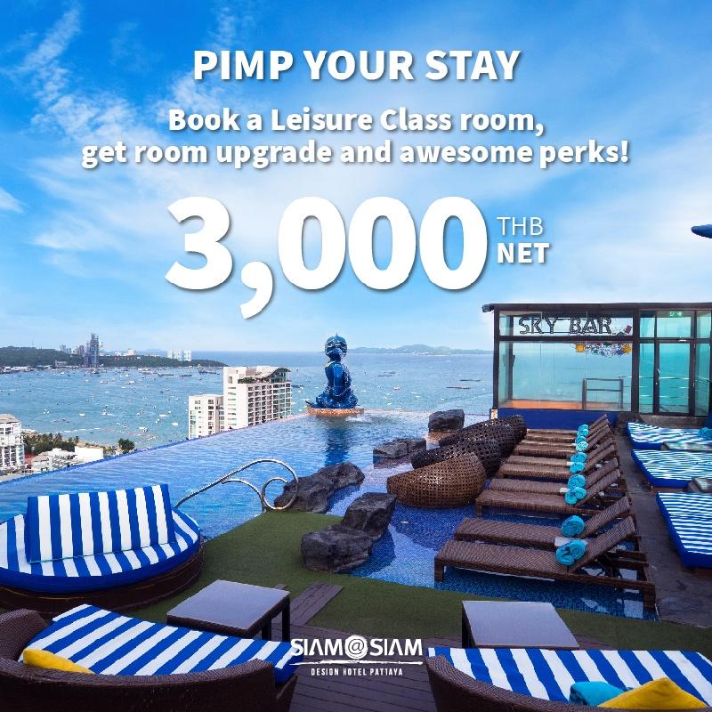 5.5 Flash Sales | Pimp Your Stay at Siam@Siam Design Hotel Pattaya