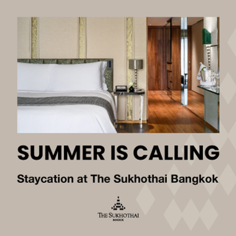 SUMMER IS CALLING   Staycation