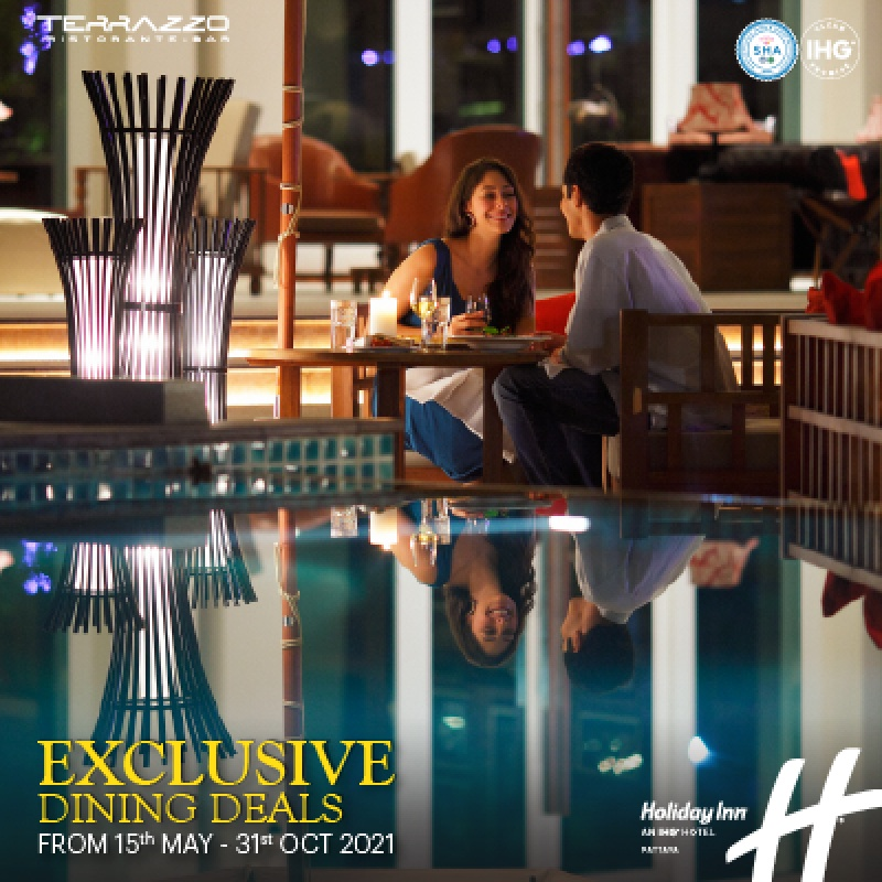 Exclusive Dining Deals - Terrazzo Restaurant, Holiday Inn Pattaya