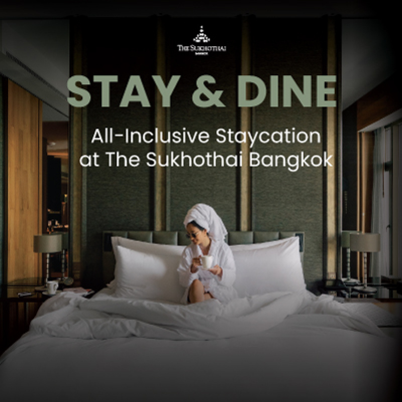 Stay & Dine | All-Inclusive Staycation