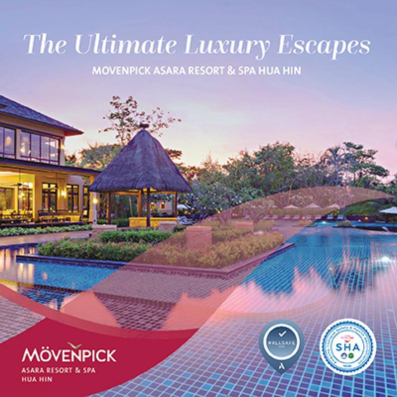 The Ultimate Luxury Escapes   Movenpick Asara Resort & Spa Hua Hin