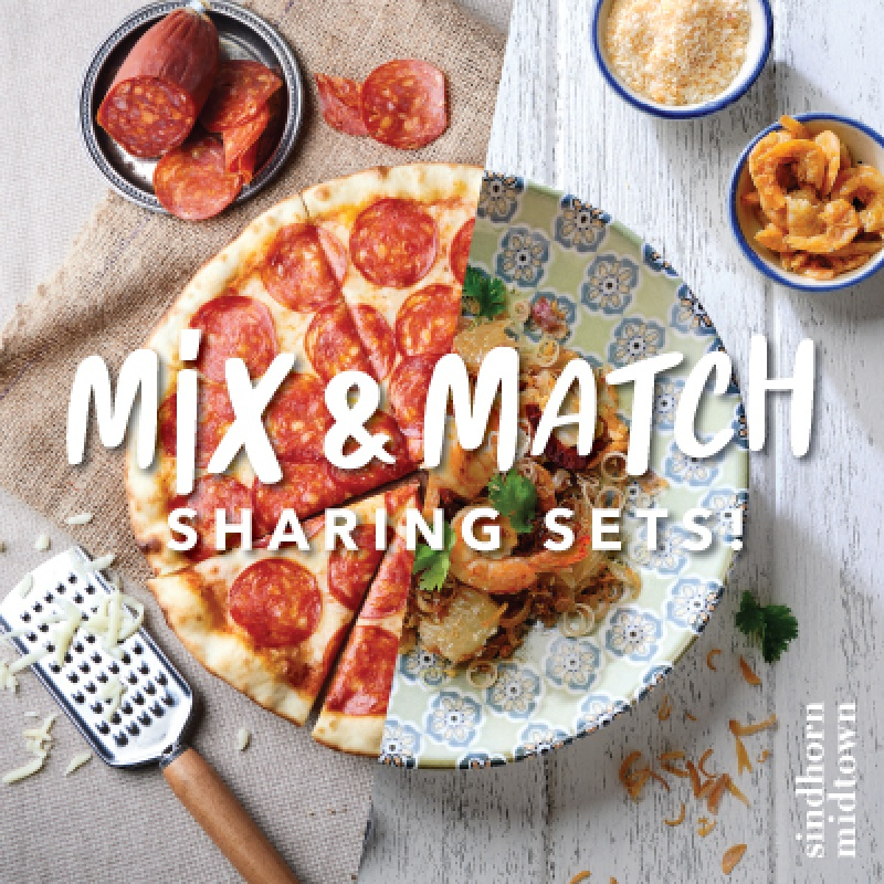 Mix & Match Sharing Sets   Sindhorn Midtown Hotel