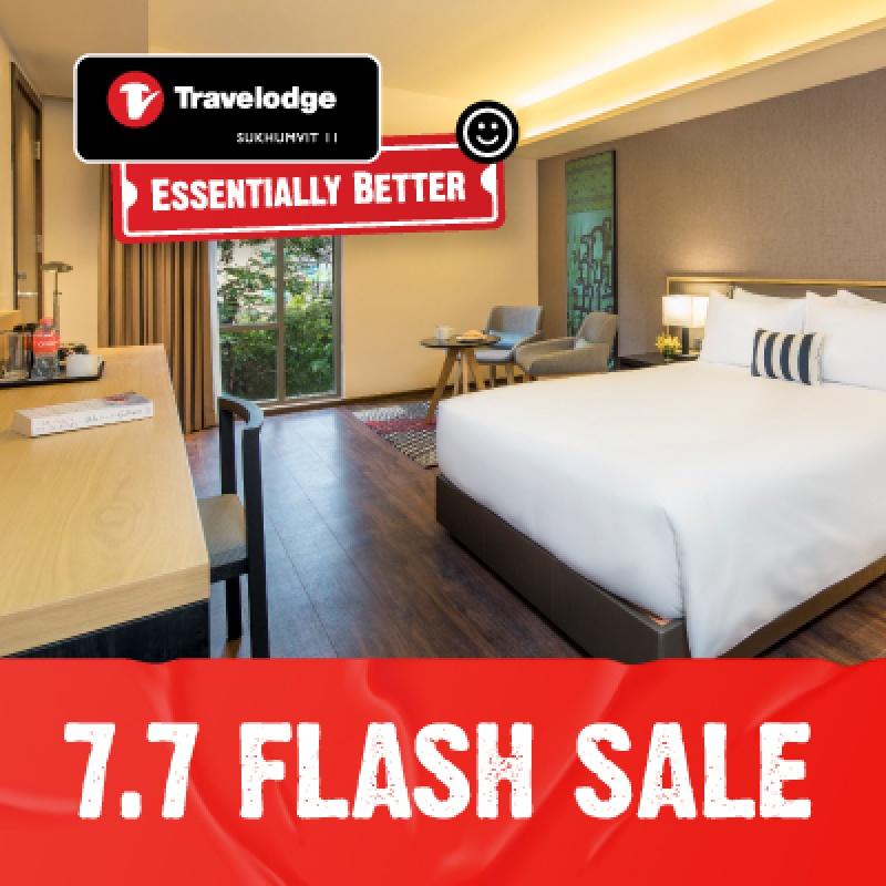 7.7 Flash Sale   Travelodge Sukhumvit 11