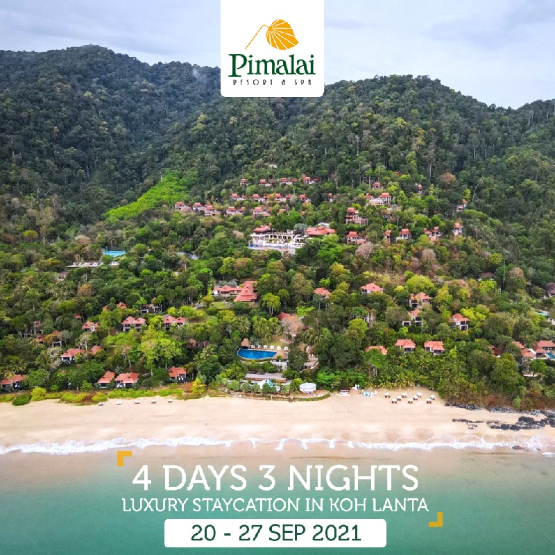 4 Days 3 Nights - Luxury Staycation in Koh Lanta   1st Megatix Digital Travel Fair